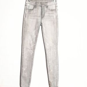 American Eagle skinny jeans Gray size 2 Ff410